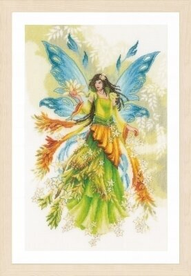 Fantasy Elf Fairy - Cross Stitch Kit