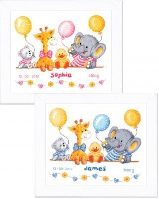 Baby Shower - Cross Stitch Kit