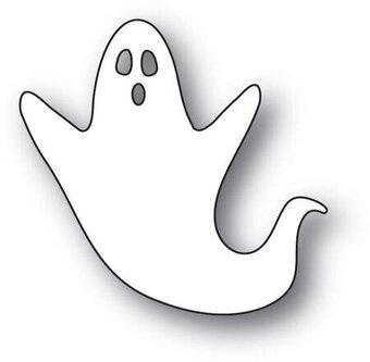 Poppystamps Scary Ghost - Halloween Craft Die - 123Stitch