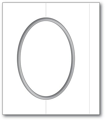 Oval Fold Frame - Craft Die