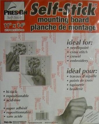 "Pres-On Self-Stick Chipboard Mounting Board 11""x14"""