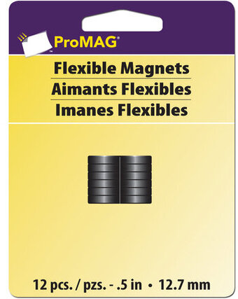 "ProMag 1/2"" Round Magnets (12 piece)"