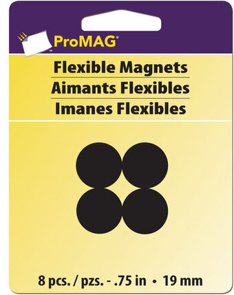 "ProMag 3/4"" Round Magnets (8 piece)"
