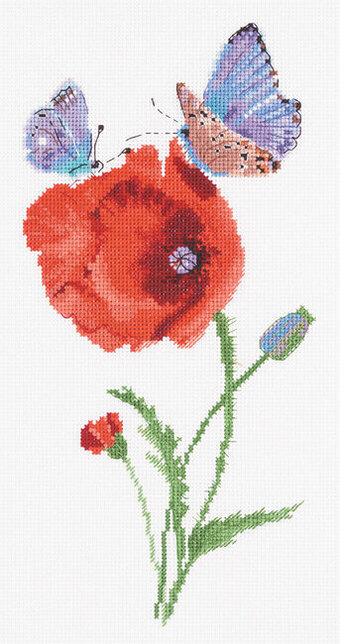 Butterflies - Split Seconds of Summer - Cross Stitch Kit