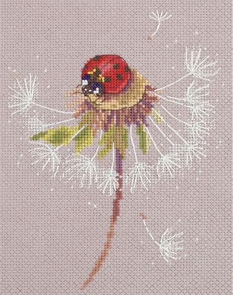 Ladybird Ladybug - Split Seconds of Summer Cross Stitch Kit