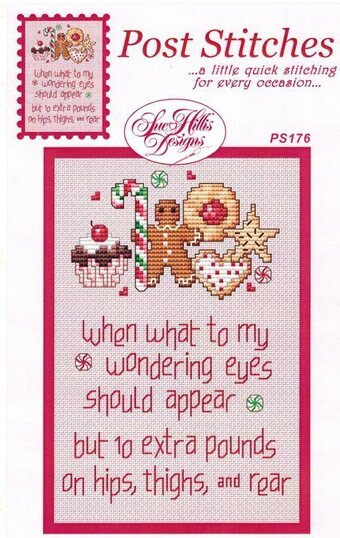 Ten Extra Pounds - Cross Stitch Pattern