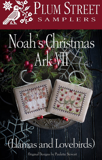 Noah's Christmas Ark VII - Cross Stitch Pattern