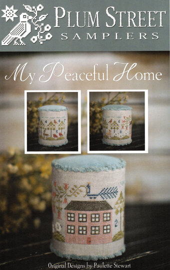 My Peaceful Home - Cross Stitch Pattern