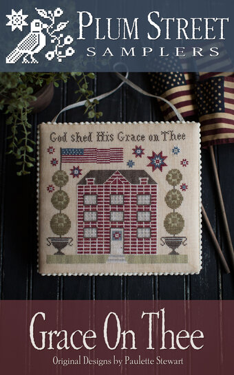 Grace on Thee - Cross Stitch Pattern