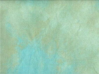 16 Count Lagoon Aida Fabric 17x25