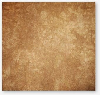 28 Count Gingerbread Lugana Fabric 35x52
