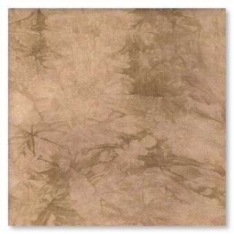 28 Count Oaken Lugana Fabric 17x25