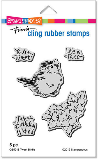 Tweet Birdie - Cling Rubber Stamp
