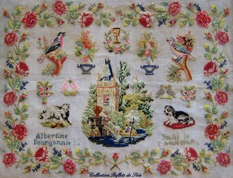 Albertine 1907 - Cross Stitch Pattern