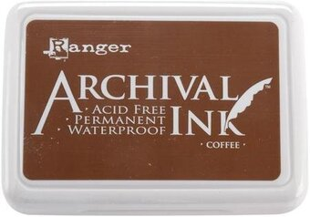 Ranger Archival Ink Inkpad - Coffee Brown