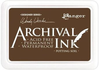 Wendy Vecchi Archival Inkpad - Potting Soil