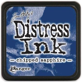 Tim Holtz Distress Mini Ink Pad - Chipped Sapphire