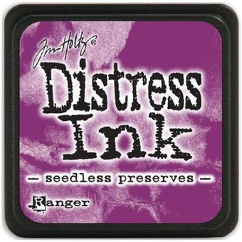 Tim Holtz Distress Mini Ink Pad - Seedless Preserves