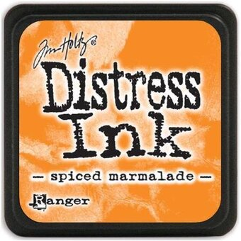 Tim Holtz Distress Mini Ink Pad - Spiced Marmalade