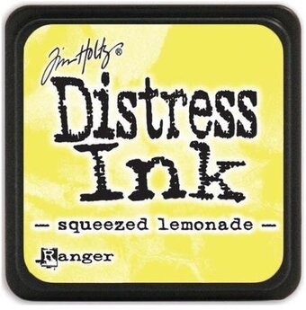 Tim Holtz Distress Mini Ink Pad - Squeezed Lemonade