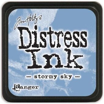 Tim Holtz Distress Mini Ink Pad - Stormy Sky