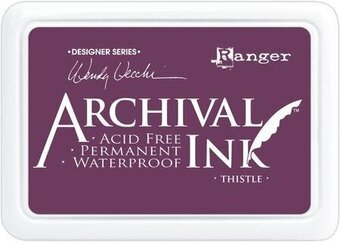 Ranger Archival Ink Inkpad - Thistle