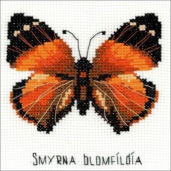 Nymphalidae Butterfly - Cross Stitch Kit
