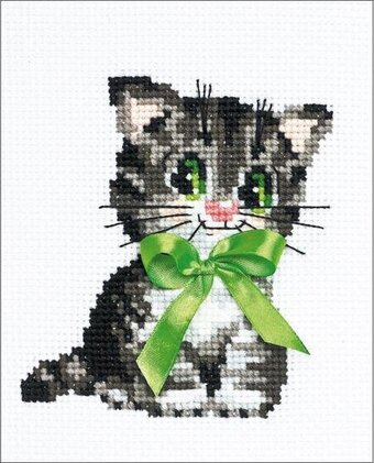 Bow - Cross Stitch Kit