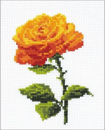 Annabel Flower - Cross Stitch Kit