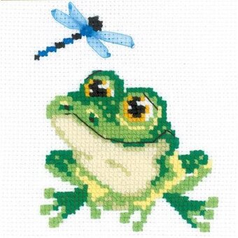 Little Frog - Cross Stitch Kit