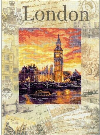 Cities Of The World: London - Cross Stitch Kit