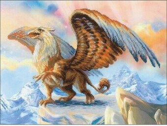 Griffin - Cross Stitch Kit