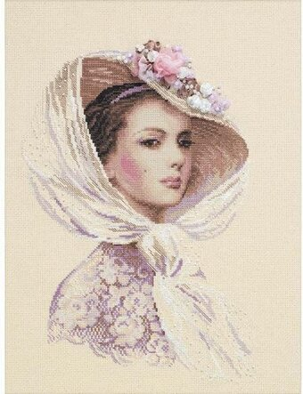Lilac Evening - Cross Stitch Kit