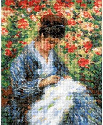 Camille Monet - Cross Stitch Kit