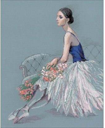 Ballerina - Cross Stitch Kit