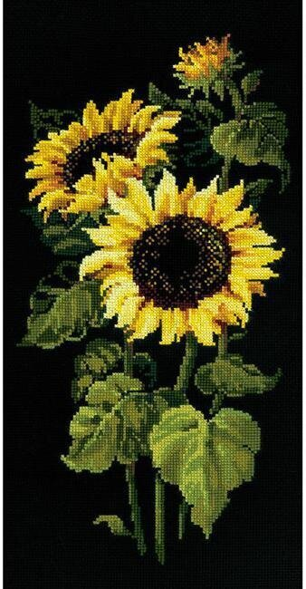 Sunflowers - Cross Stitch Kit