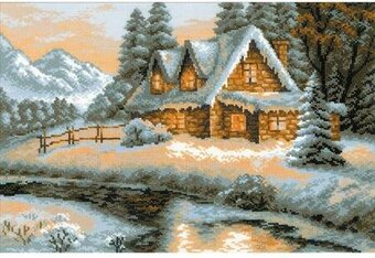 Winter View - Cross Stitch Kit