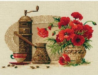 Coffee - Cross Stitch Kit