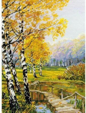 The Birches - Cross Stitch Kit