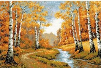 The Golden Grove - Cross Stitch Kit