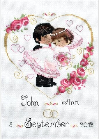 Wedding Record - Cross Stitch Kit