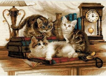 Furry Friends Cats - Cross Stitch Kit