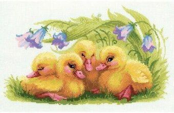 Funny Ducklings - Cross Stitch Kit