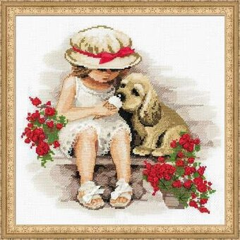 Sweet Tooth - Cross Stitch Kit