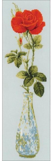 Queen Of Flowers - Cross Stitch Kit