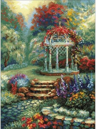 Flower Arbor - Cross Stitch Kit