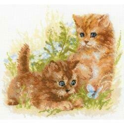 Child's Play Kittens - Cross Stitch Kit