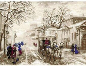 Old Street - Cross Stitch Kit