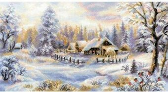 Winter Evening - Cross Stitch Kit