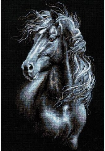 Breeze Through Mane - Cross Stitch Kit